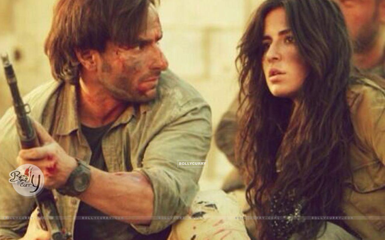 Saif Ali Khan and Katrina Kaif in Phantom (372318) size:1280x800