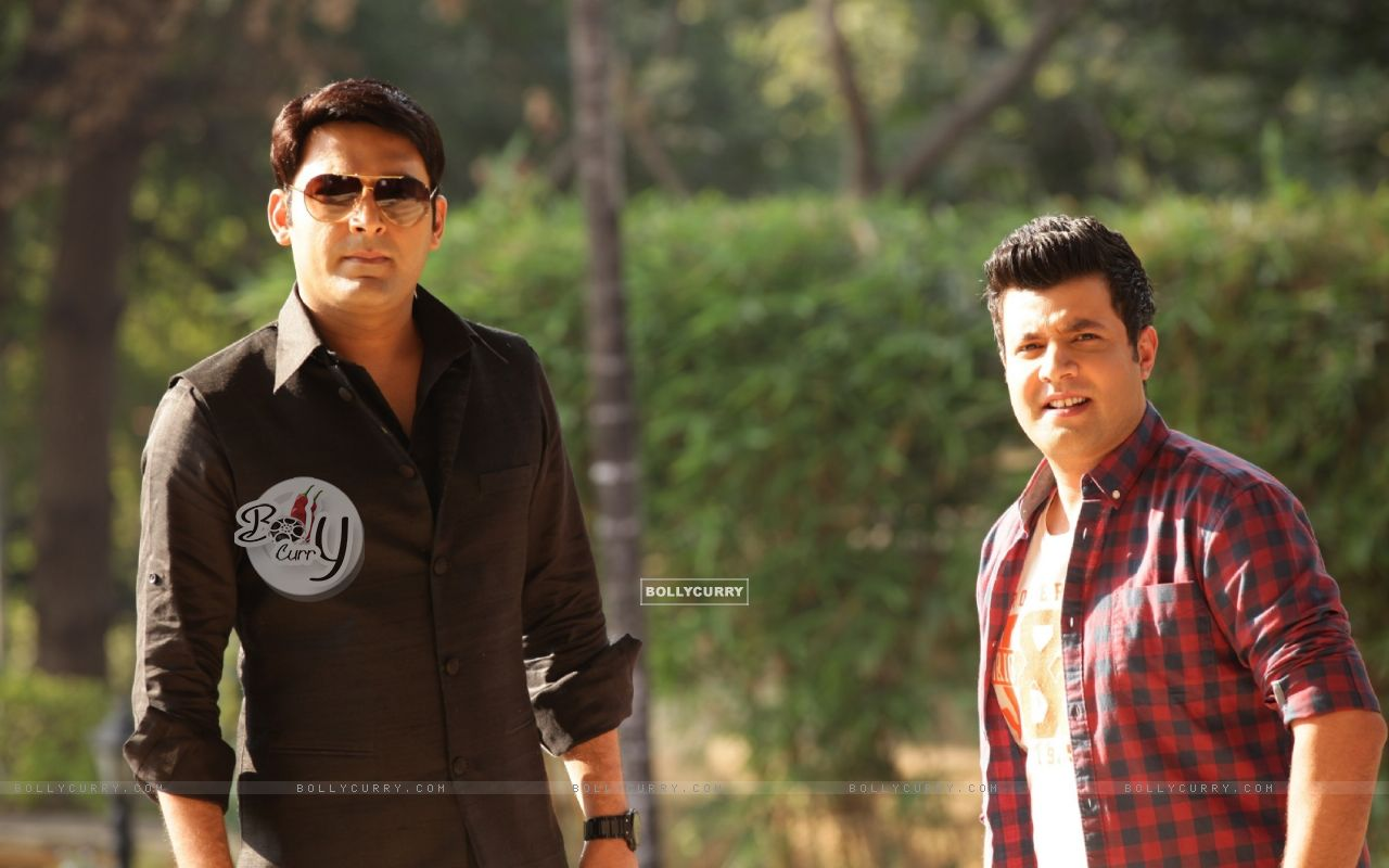 Kapil Sharma and Varun Sharma in Kis Kisko Pyaar Karoon (376016) size:1280x800