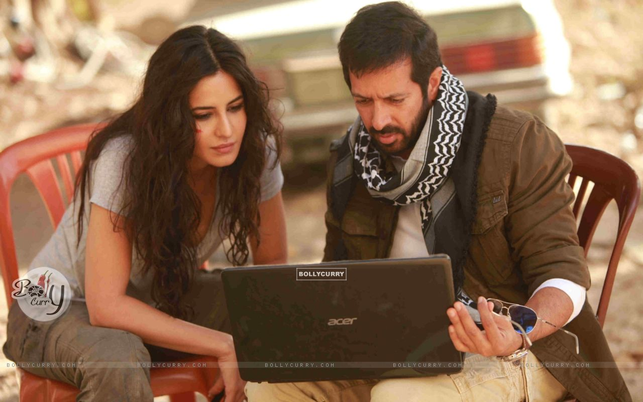 Kabir Khan and Katrina on Sets of Phantom (376121) size:1280x800