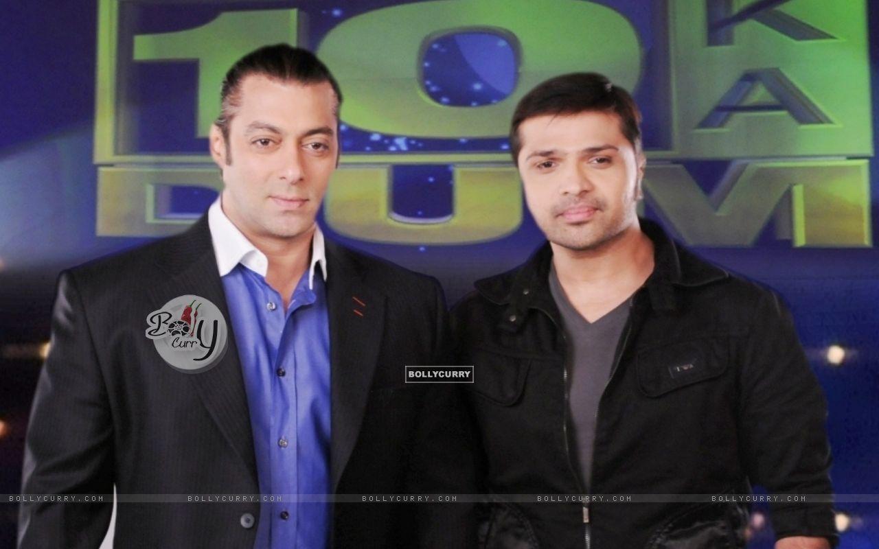 Himesh Reshmmiya and Salman Khan (38674) size:1280x800