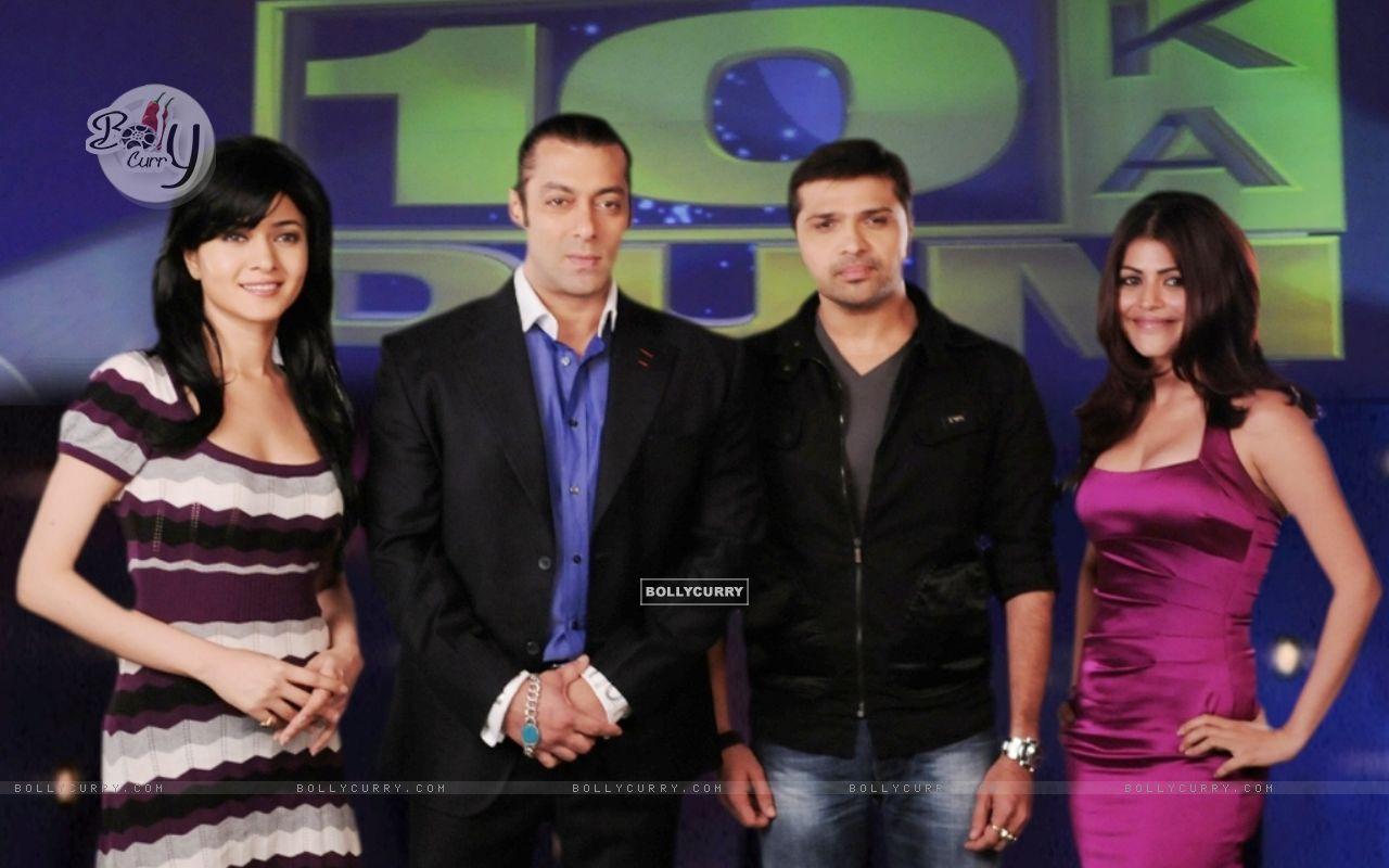 Salman, Sonal, Himesh and Shenaaz (38675) size:1280x800