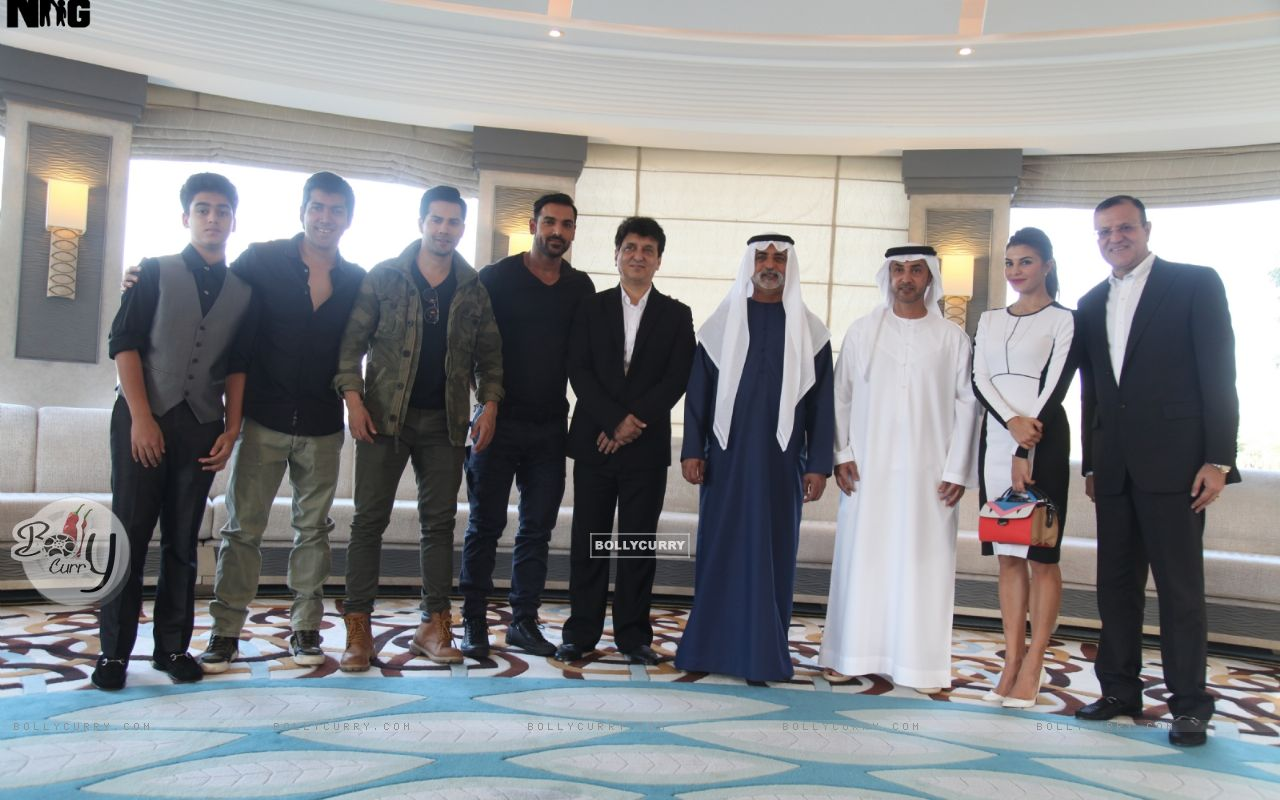Dishoom Team At the Royal luncheon in Abu Dhabi (393736) size:1280x800