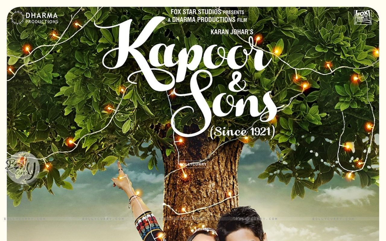 Kapoor & Sons Second Poster (394324) size:1280x800