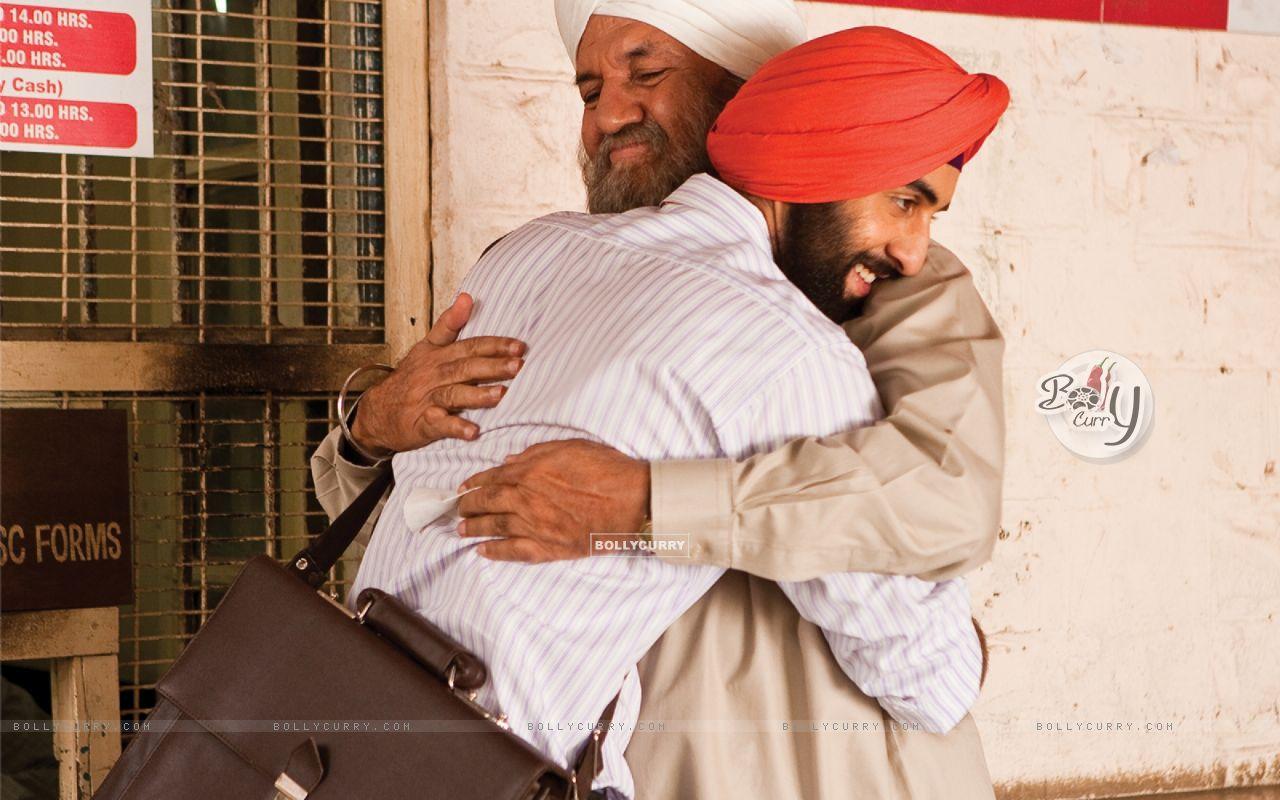 Ranbir Kapoor hugging Prem Chopra (40090) size:1280x800