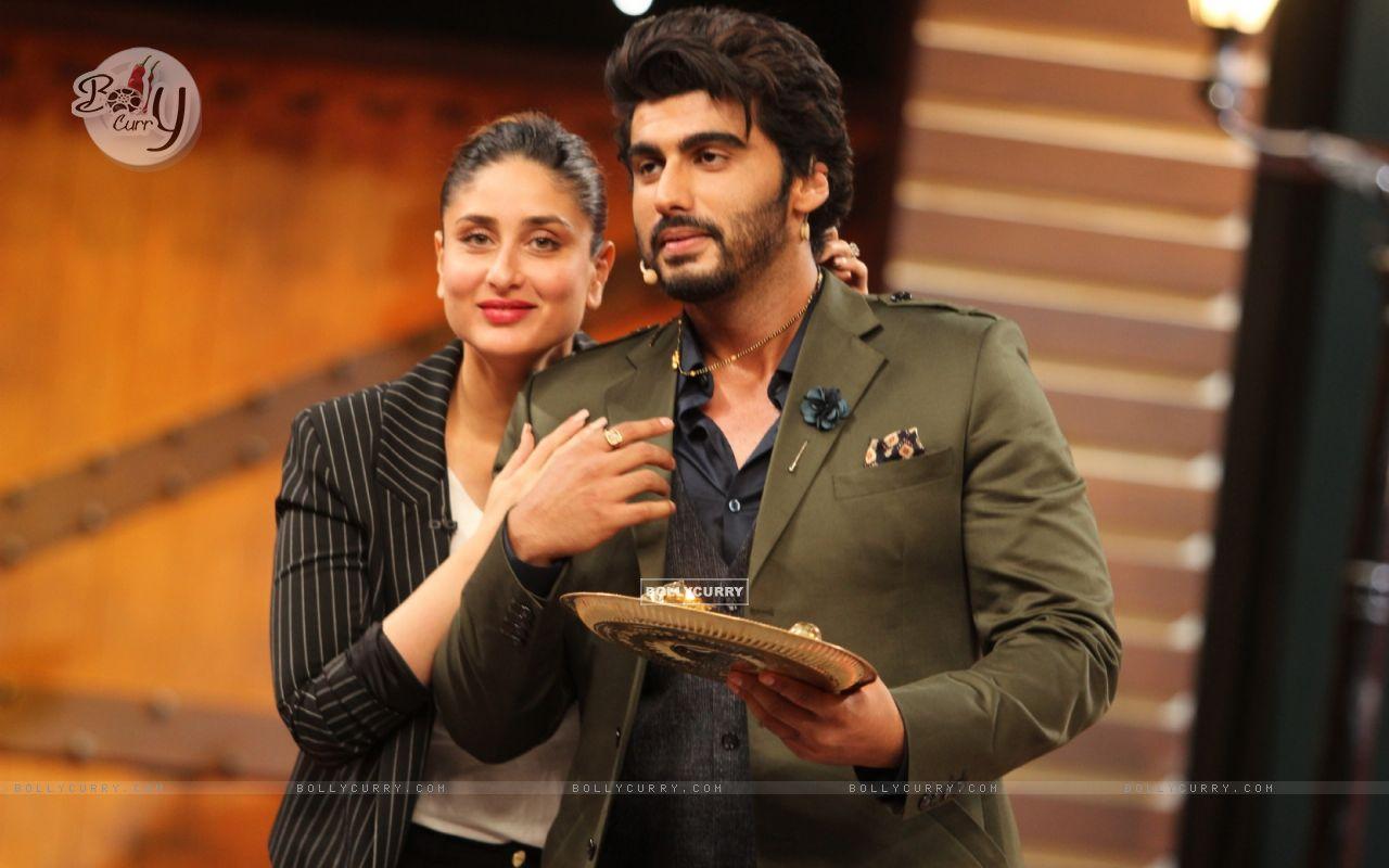 Kareena Kapoor and Arjun Kapoor Promotes Ki And Ka (402325) size:1280x800