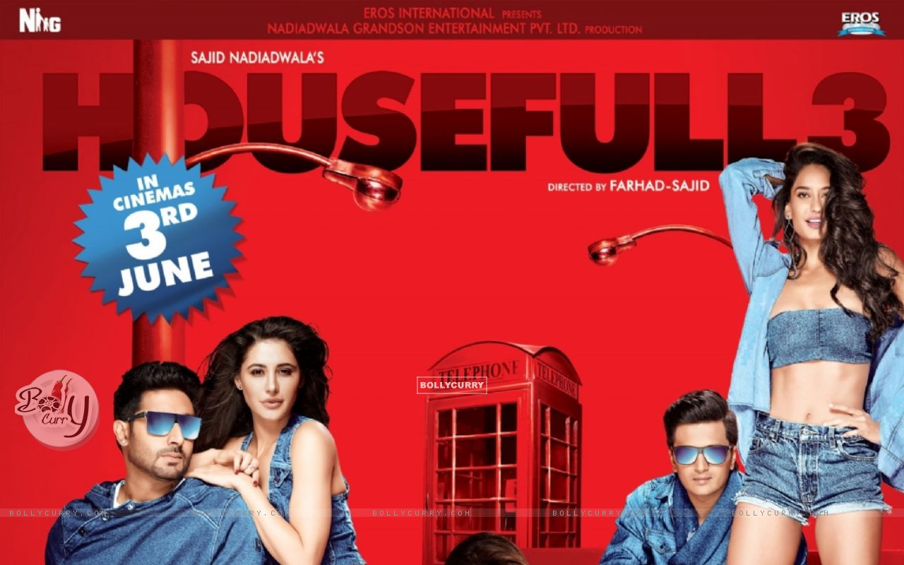 Poster of the film 'Housefull 3' (403919) size:1280x800