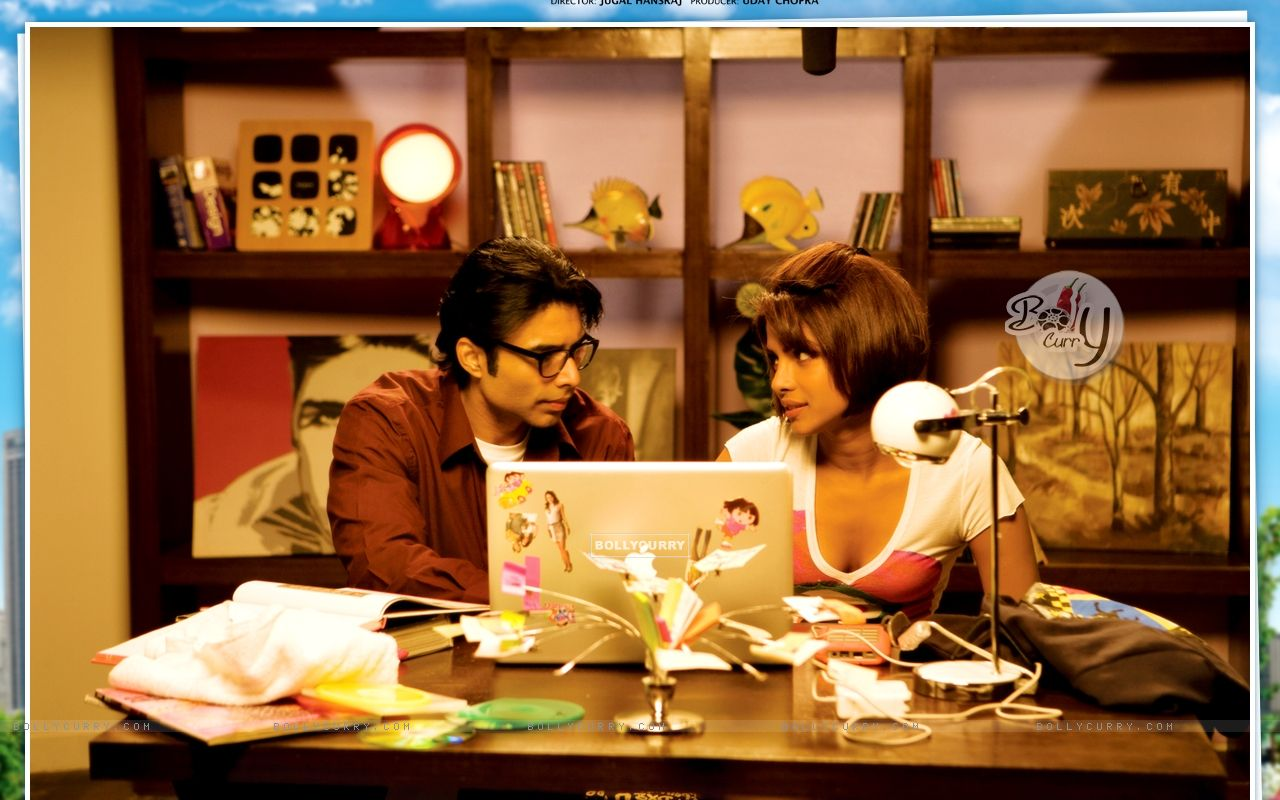 Pyaar Impossible movie wallpaper with Priyanka and Uday (40424) size:1280x800