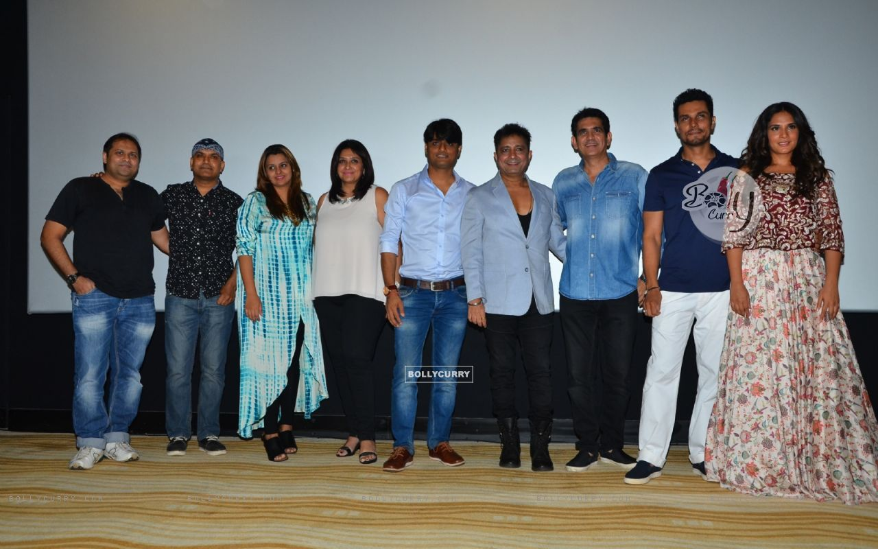 Richa Chadda, Omung Kumar and Randeep Hooda at Song Launch of Sarabjit (404903) size:1280x800