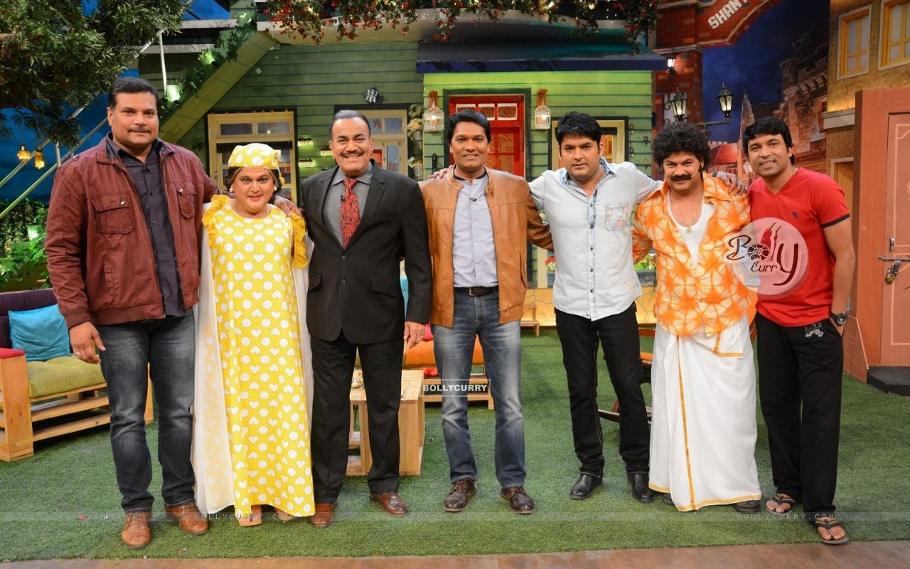 CID Serial Cast at The Kapil Sharma Show (406894) size:1280x800