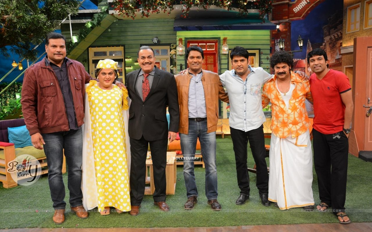 CID Serial Cast at The Kapil Sharma Show (406895) size:1280x800
