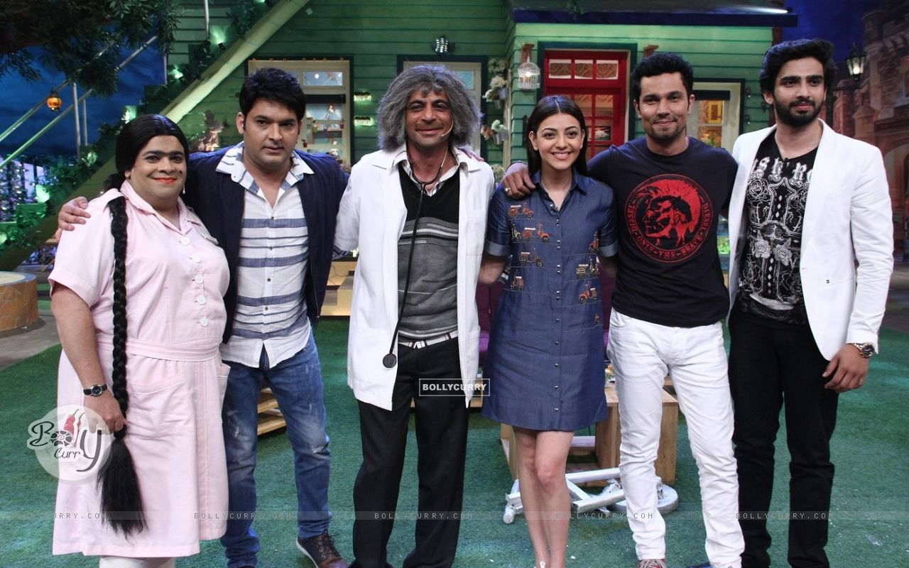 Randeep Hooda and Kajal Aggarwal promotes 'Do Lafzo Ki Kahani' on The Kapil Sharma Show! (408326) size:1280x800