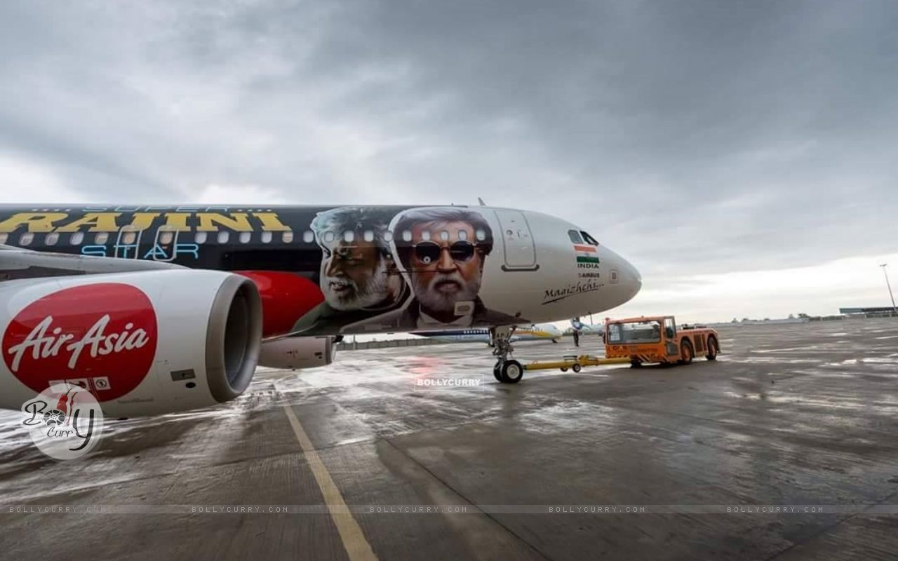 Kabali's unique style of promotion- Air Aisa promotes 'Kabali' (410991) size:1280x800