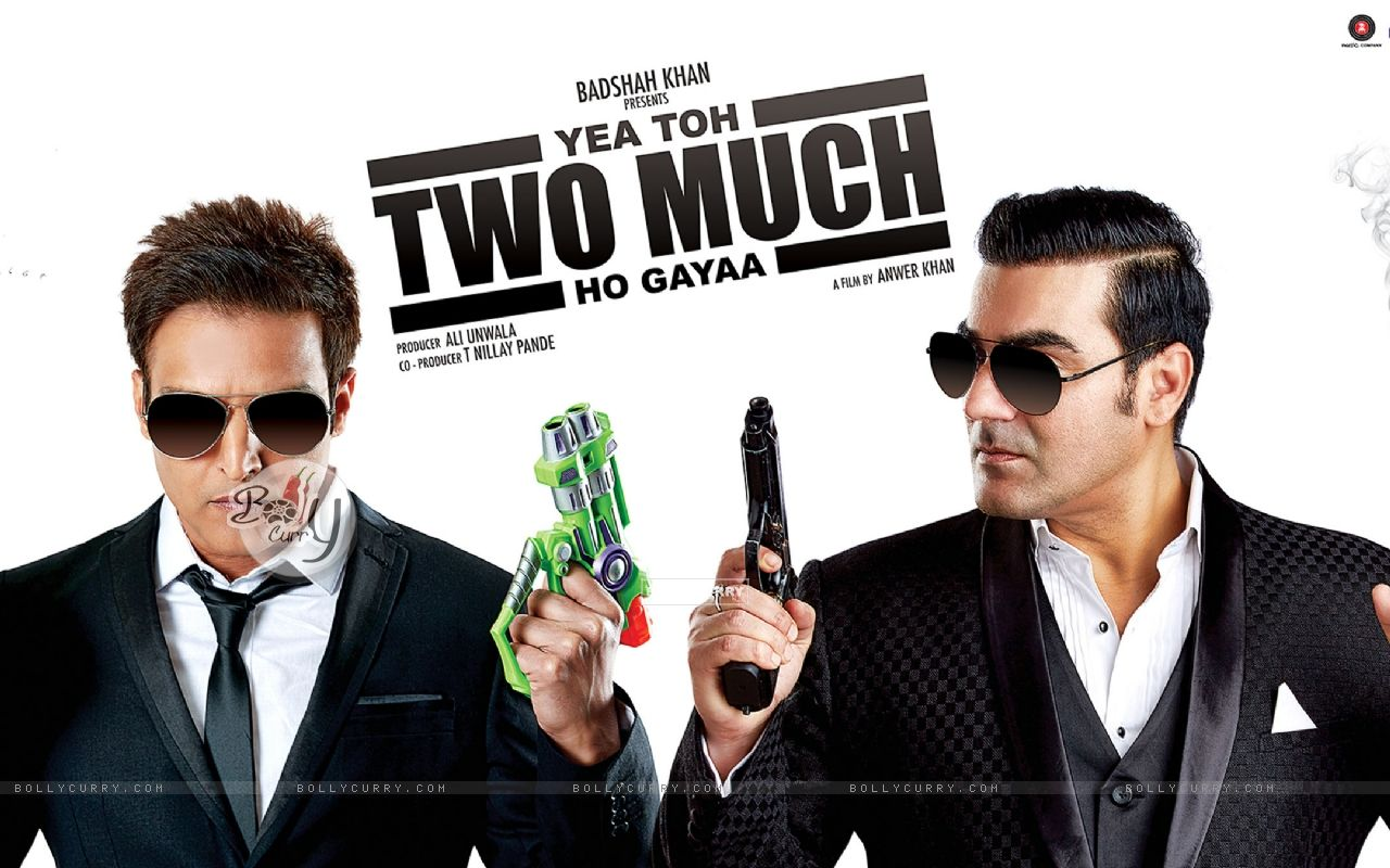 Jimmy Shergill and Arbaaz Khan starring Yea Toh Two Much Ho Gayaa (415588) size:1280x800