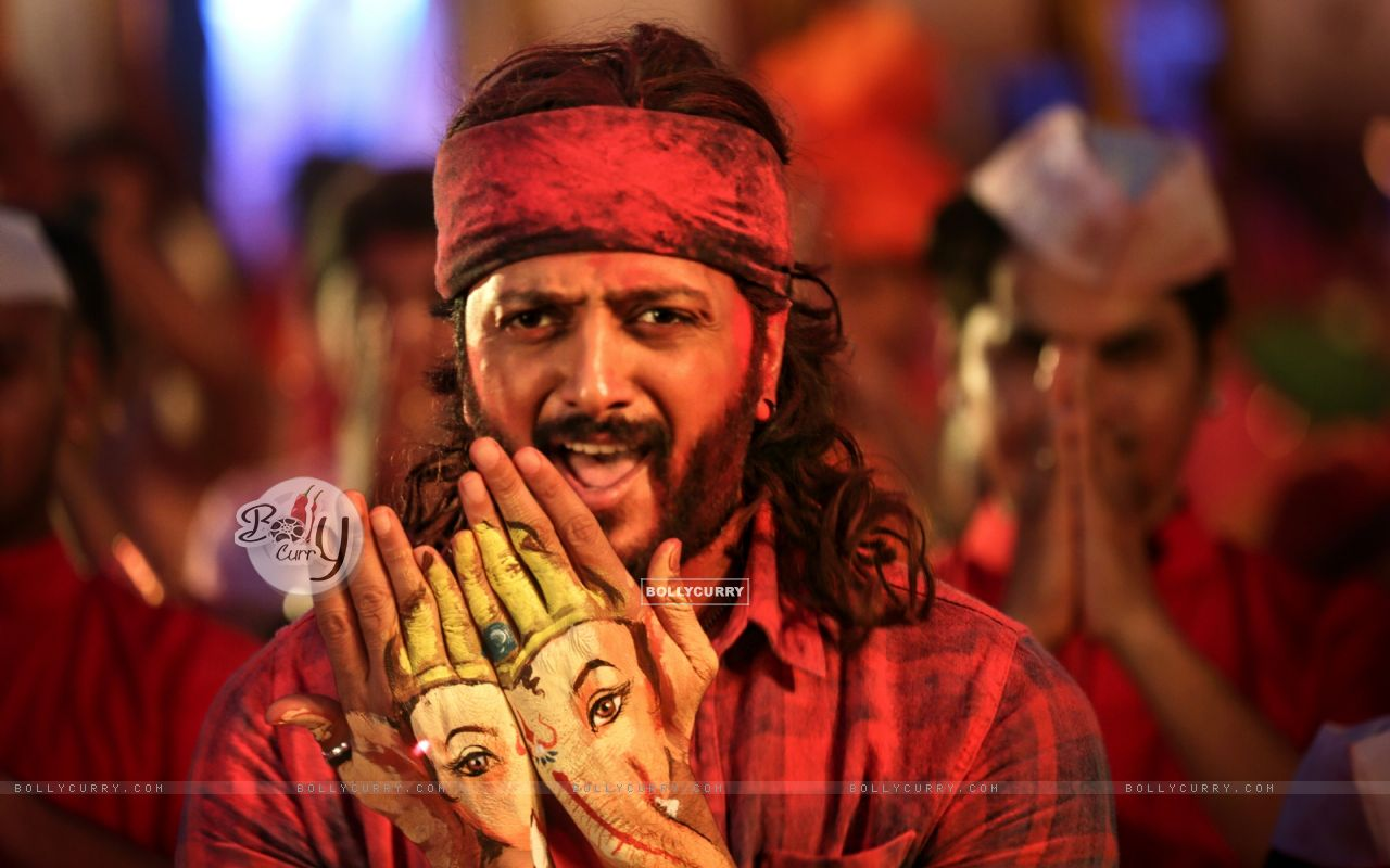 Riteish Deshmukh's look in Bappa from Banjo (416341) size:1280x800