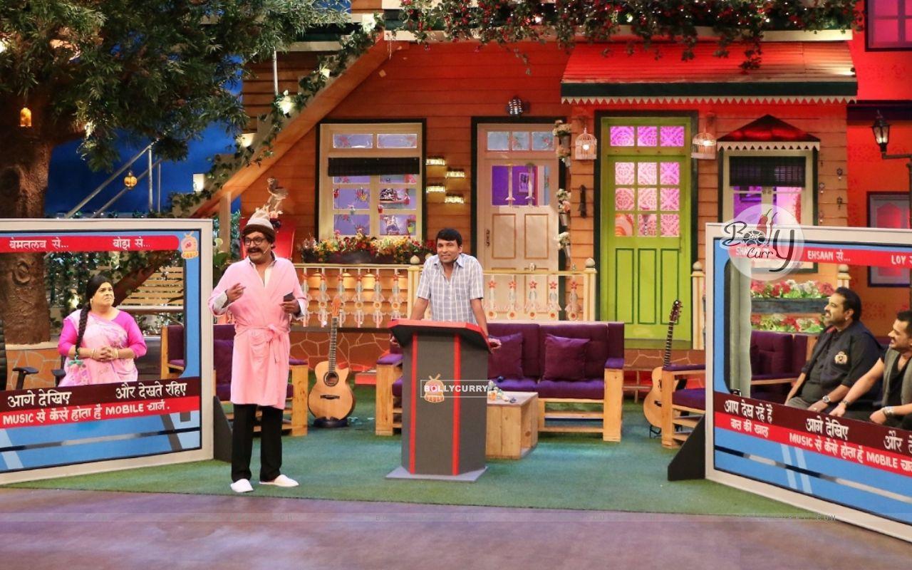 Shankar Mahadevan and Ehsaan Noorani on the sets of The Kapil Sharma Show (421549) size:1280x800
