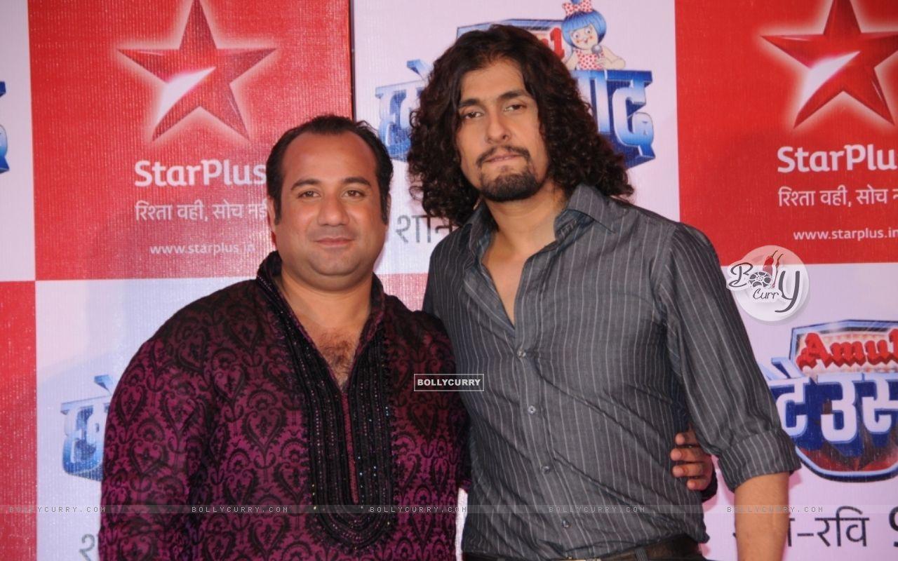 Rahat Fateh Ali Khan & Sonu Nigam as a judges (91247) size:1280x800