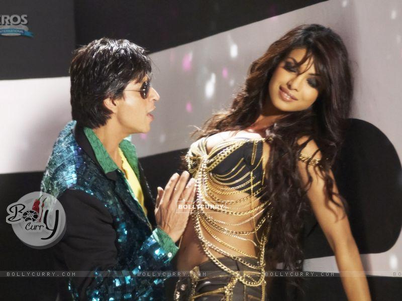Hot scene of Priyanka and Shahrukh (11132) size:800x600