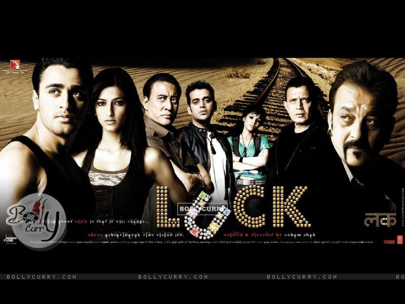 Luck movie wallpaper with Imraan,Sanjay,Shruti...... (20315) size:800x600