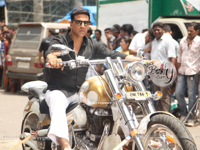 Divine Bike For Akshay Kumar In OMG Oh MyGod (221954) size:800x600