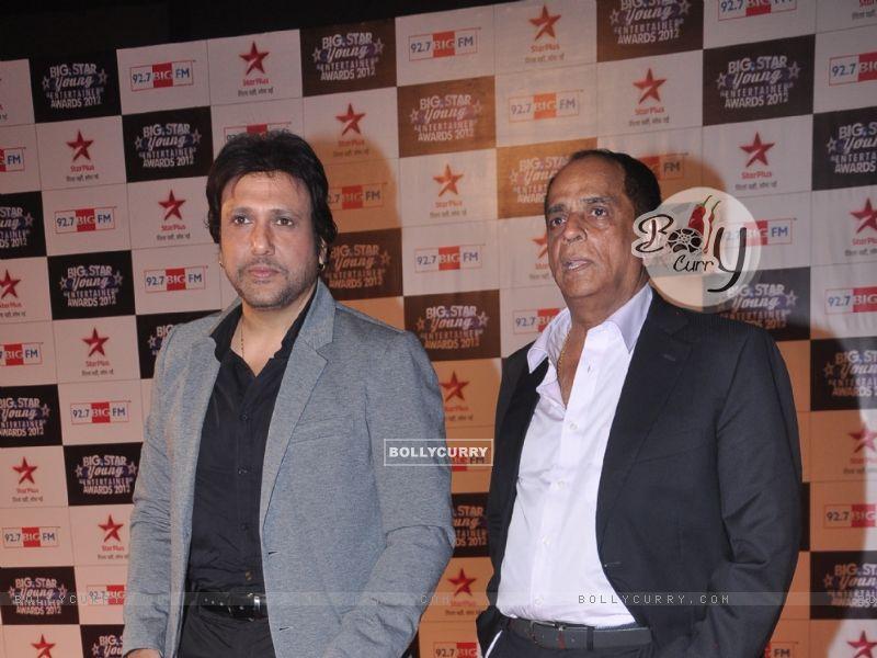 Govinda and Pahlaj Nihalani at BIG Star Young Entertainment Awards (225005) size:800x600