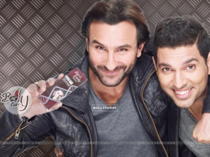 Yuvraj Singh and Saif Ali Khan (344582) size:800x600