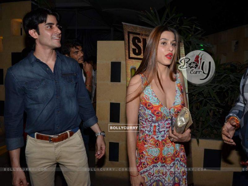 Gautam Rode and Shilpa Sakhlani at Sargun Mehta's Birthday Bash (377321) size:800x600