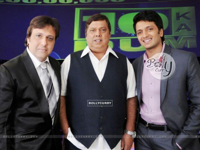 David Dhavan, Govinda and Ritesh Deshmukh (38554) size:800x600