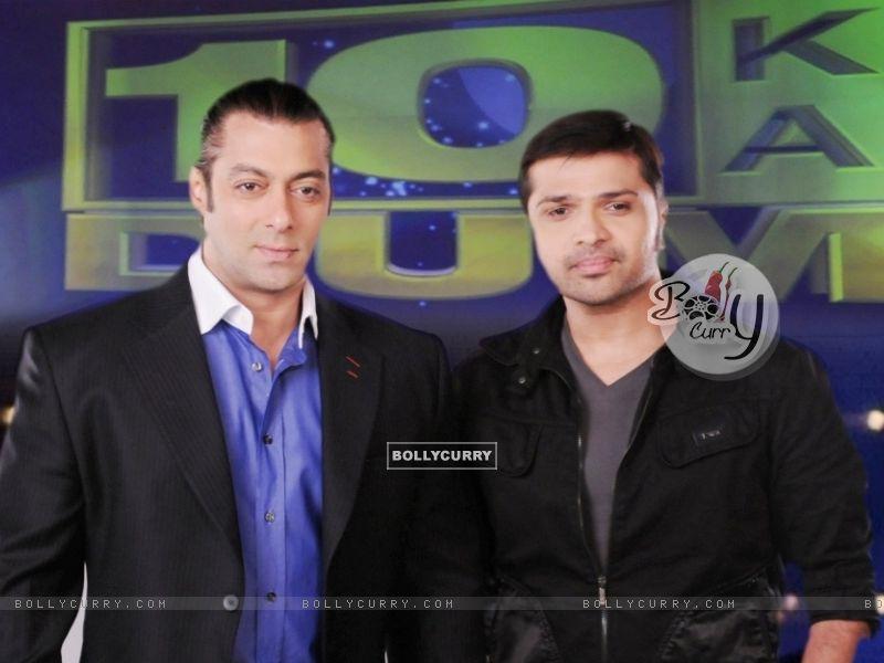 Himesh Reshmmiya and Salman Khan (38674) size:800x600
