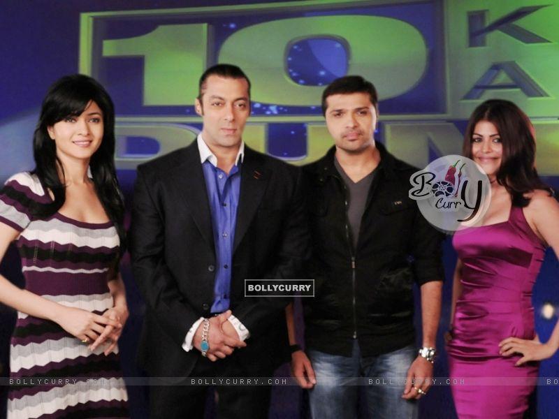 Salman, Sonal, Himesh and Shenaaz (38675) size:800x600