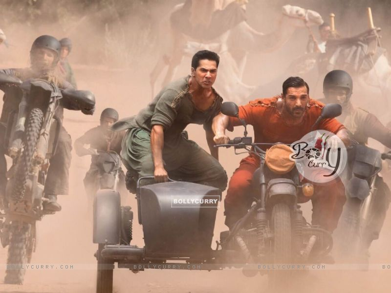Introducing Kabir and Junaid in Dishoom - Varun Dhawan and John Abraham (387017) size:800x600