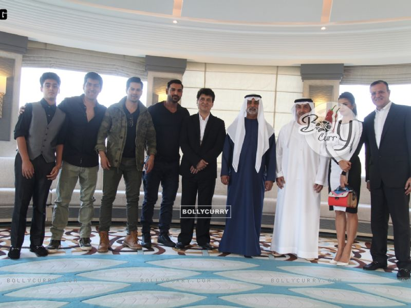 Dishoom Team At the Royal luncheon in Abu Dhabi (393736) size:800x600