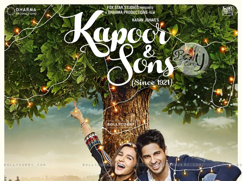 Kapoor & Sons Second Poster (394324) size:800x600