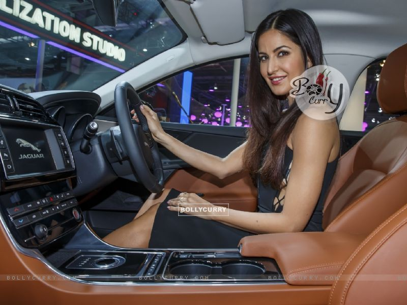 Katrina Kaif at Jaguar's Launch at Auto Expo 2016 (394423) size:800x600