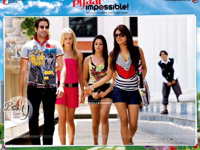 Pyaar Impossible movie wallpaper with Priyanka Chopra wallpaper