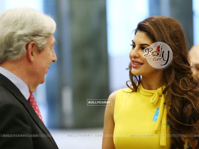 Jacqueline Fernandez at the European Parliament (404905) size:800x600