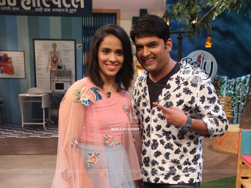 Saina Nehwal with Kapil Sharma on The Kapil Sharma Show (405804) size:800x600