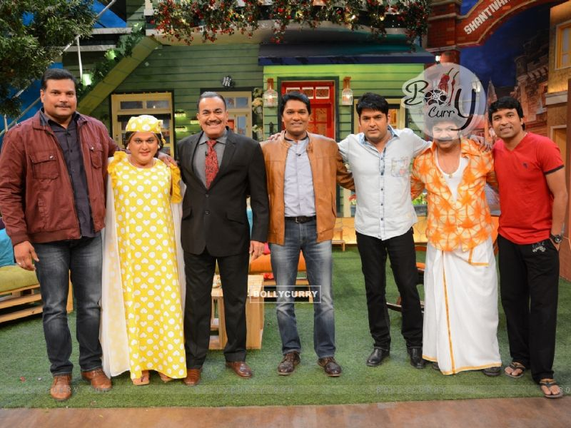 CID Serial Cast at The Kapil Sharma Show (406894) size:800x600