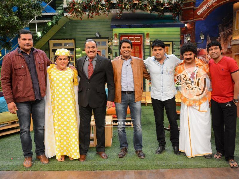 CID Serial Cast at The Kapil Sharma Show (406895) size:800x600