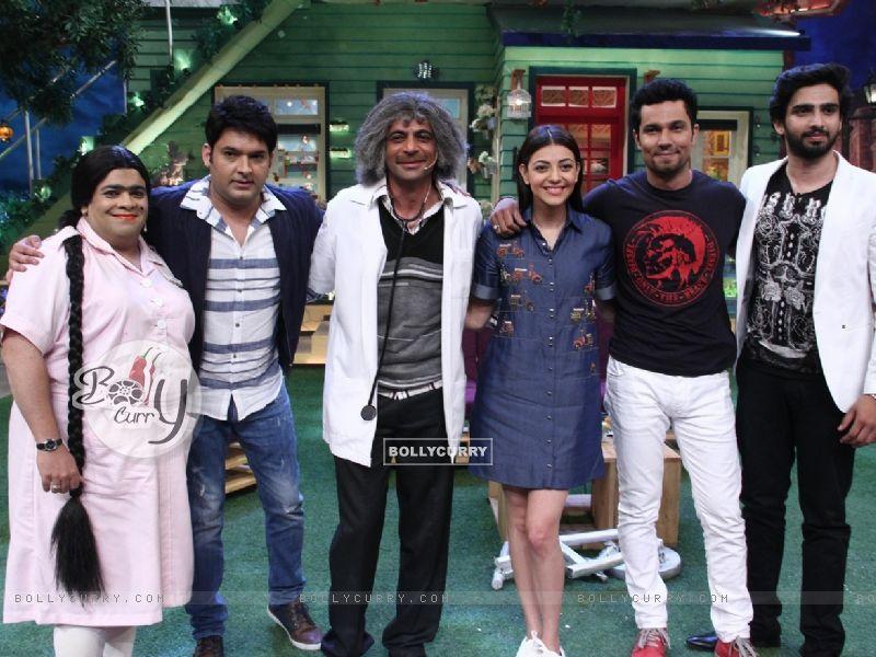 Randeep Hooda and Kajal Aggarwal promotes 'Do Lafzo Ki Kahani' on The Kapil Sharma Show! (408326) size:800x600