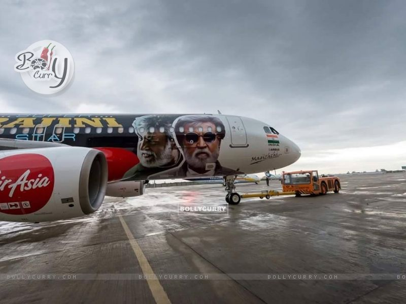 Kabali's unique style of promotion- Air Aisa promotes 'Kabali' (410991) size:800x600