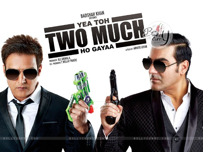 Jimmy Shergill and Arbaaz Khan starring Yea Toh Two Much Ho Gayaa (415588) size:800x600