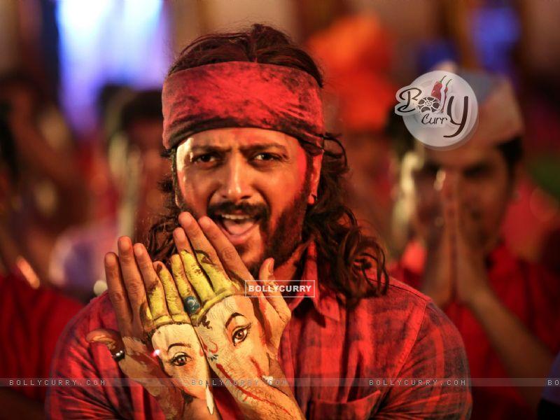 Riteish Deshmukh's look in Bappa from Banjo (416341) size:800x600
