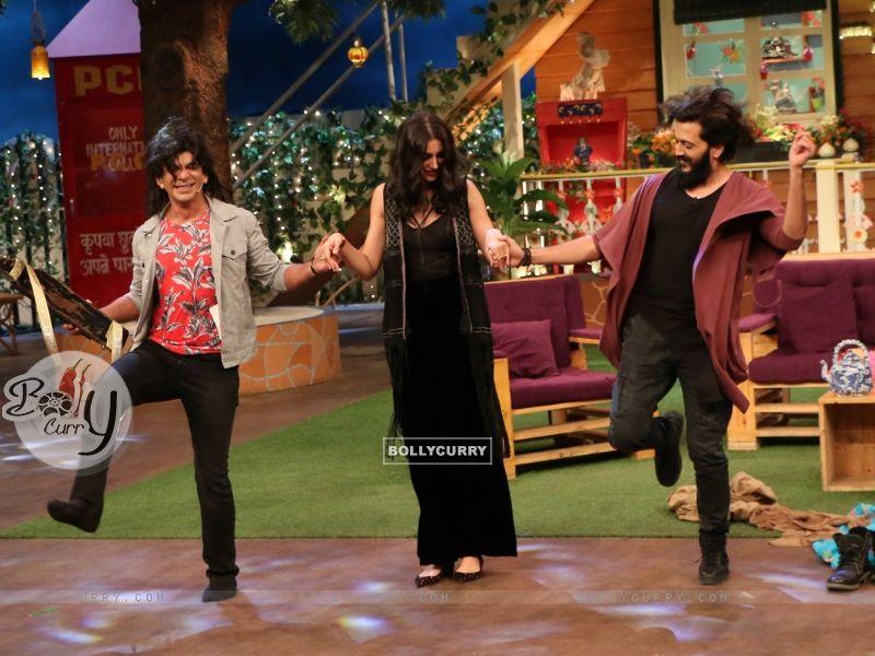 Celebs at Promotion of 'Banjo' on Sets of The Kapil Sharma Show (420336) size:800x600