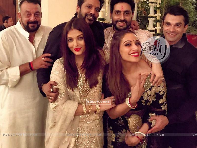 Sanjay Dutt, Aishwarya Rai, Abhishek Bachchan, Bipasha Basu and Karan Singh Grover (436768) size:800x600