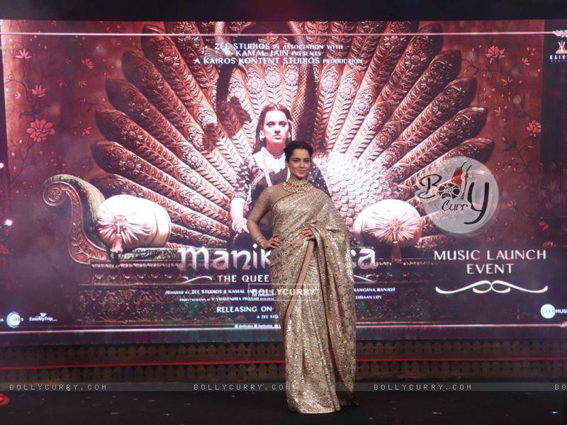 Kangana Ranaut spotted at Manikarnika music launch (443075) size:800x600