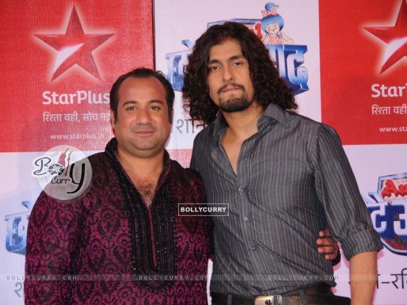 Rahat Fateh Ali Khan & Sonu Nigam as a judges (91247) size:800x600
